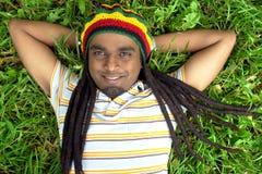 Hallo Jamaika Stockbild