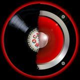 Hallo Muzikale Abstracte het Verslagspreker van FI vector illustratie
