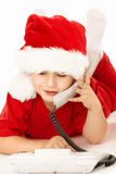 Hallo, Santa! Royalty Free Stock Images