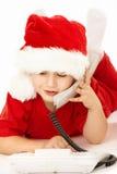 Hallo, Santa! royalty free stock images