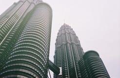 Hallo Twin Tower Lizenzfreie Stockfotografie