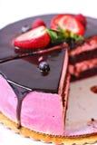 hallon för cakechokladkräm Royaltyfri Foto