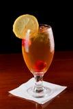 Hallon Iced Tea Arkivbild