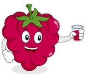 Hallon med ny sammanpressad fruktsaft Royaltyfri Fotografi