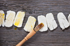 Halloumi Cheese Royalty Free Stock Photos