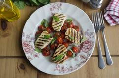 Free Halloumi Salad Stock Photos - 56128843