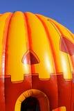 Hallowe'en pumpkin inflatable Stock Image