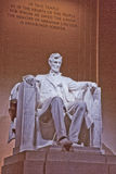 In This Hallowed Temple--Lincoln Memorial Royalty Free Stock Photography