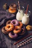 Halloweeen donuts Royalty Free Stock Photos