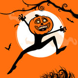 Halloween överrrakning Royaltyfria Bilder