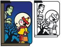 Halloween-Überraschung Lizenzfreie Stockfotos