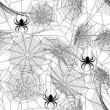 halloween безшовный иллюстрация вектора