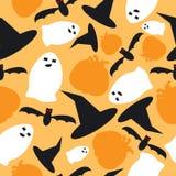 halloween безшовный Стоковая Фотография