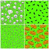 halloween делает по образцу безшовное Стоковое Изображение