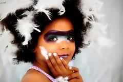 Halloween или принципиальная схема Costume Mardi Gras стоковое изображение