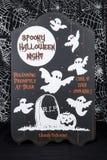 halloween пугающий Стоковые Фото