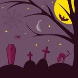 halloween плоско иллюстрация вектора