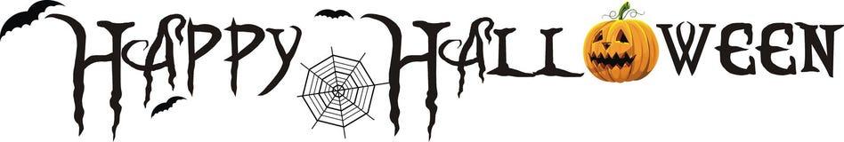 halloween счастливый иллюстрация штока