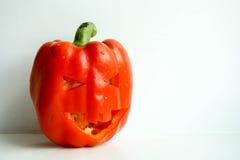 halloween Усмехаться тыквы фото Стоковое Изображение RF