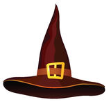 Halloween-01. Hat on a white background for the holiday Halloween Royalty Free Stock Images