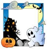 Halloween (1) ramowy temat royalty ilustracja