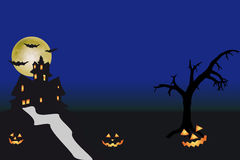 Halloween. An illustration for halloween day stock illustration