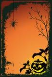 Halloween. Vector illustration with pumpkin Royalty Free Stock Photos