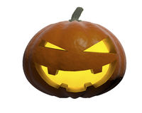 Halloween. Pumpkin-style halloween bright smile Stock Illustration