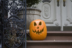 Halloween. It is a ghost pumpkin of the Halloween Royalty Free Stock Photo