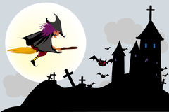 Halloween. Vector illustration Royalty Free Stock Image