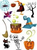 комплект halloween Стоковые Фотографии RF