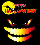 Halloween. Greeting for the holiday Halloween Royalty Free Stock Images