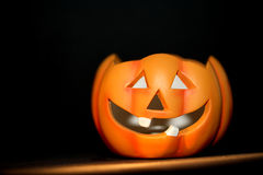 Halloween. An orange pumpkin for halloween Stock Photo