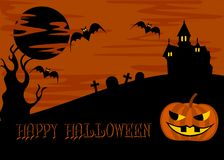 Halloween 2 illustrazione vettoriale