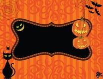 приглашение halloween Стоковое Изображение RF