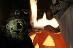 Halloween001 Fotografia Stock