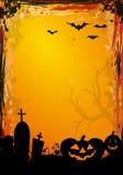 Граница Halloween Стоковые Изображения RF