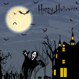 Halloween. A halloween night themed illustration Royalty Free Stock Image