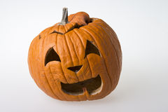 After halloween. Bad pumpkin after halloween Royalty Free Stock Photography