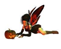 Halloween 3 wróżkę Zdjęcia Royalty Free