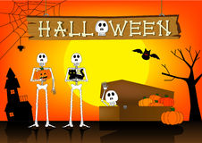 Halloween 2 Imagem de Stock Royalty Free