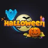 halloween 2 vektor illustrationer