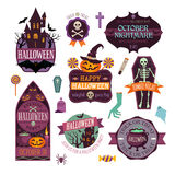 halloween royaltyfri illustrationer