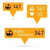 Halloween4 Fotografie Stock Libere da Diritti