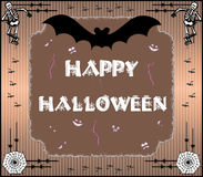 Halloween. Illustration for halloween holiday, with Happy Halloween vector illustration