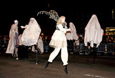 парад halloween самый большой Стоковые Изображения