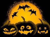 Halloween-Abbildung Stockfoto