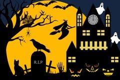 Halloween-Abbildung Lizenzfreie Stockfotos