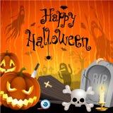 Halloween-Abbildung Lizenzfreies Stockfoto