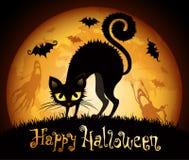 Halloween-Abbildung Stockfotos